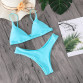 Minimalism Le 2019 Solid Bikini Sets Women's Swimsuit Female Swimwear Bikinis Sexy Bathing Suits Biquini Beach Wear